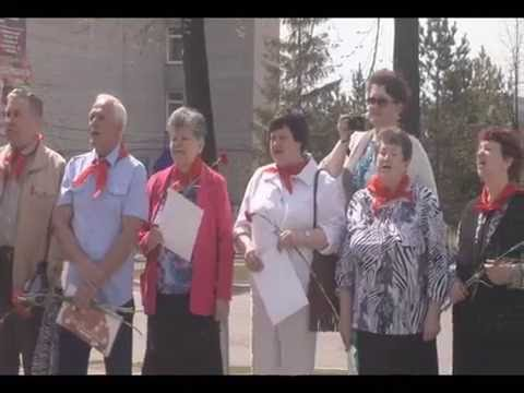 День пионерии в Кушве