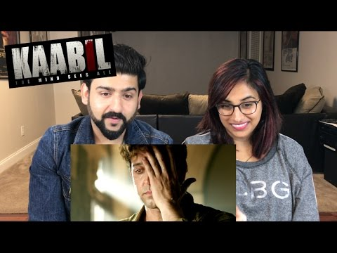 Kaabil Official Trailer Reaction | Hritik Roshan, Yami Gautam |