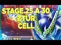 STAGE 25 A 30 EXTREME Z BATTLE CELL! DIFFICILE EN SUPER INT?   DOKKAN BATTLE FR