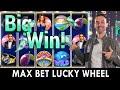 MAX BETTING on Lucky Wheel 💰 PlayLuckyland Casino - YouTube