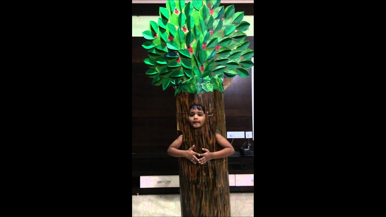 Fancy dress of tree youtube solutioingenieria Choice Image