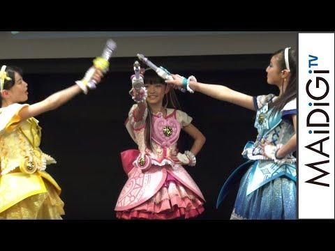 "Press Conference of ""Magic X Warrior Maji Major Pure!"""