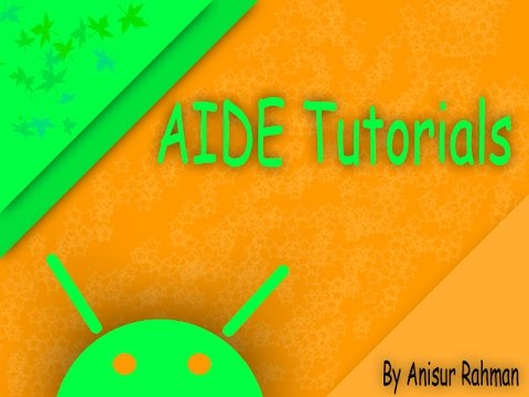 AIDE Tutorial {Input events}#19