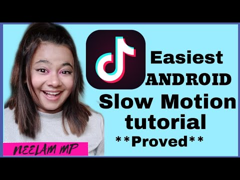 How To Make Android Slow Motion On Tiktok | Android Slow Motion | Neelam Mp |