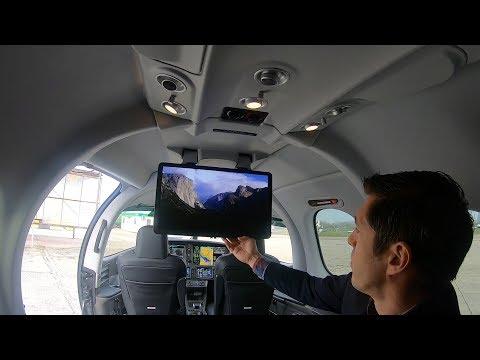 Cabin Tour New Cirrus G2 Jet