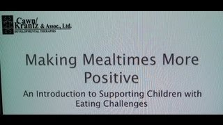 Making Mealtimes More Positive!