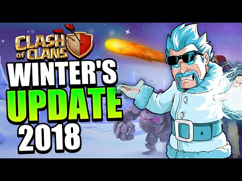 Clash Of Clans - New Upcoming Christmas Update 2018 | Winters Update 2018 - Clash Of Clans