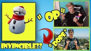 *INVINCIBLE* SNEAKY SNOWMAN Fortnite Funny WTF Fails and Daily Best Moments Ep.10