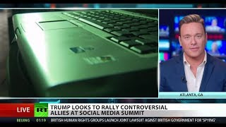 Twitter-savvy Trump hosts censorship summit – Ben Swann