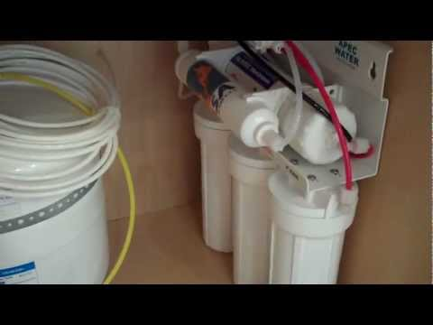 Changing Reverse Osmosis Filters