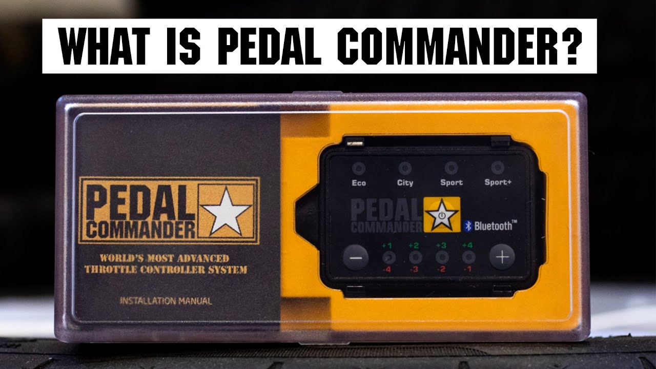 Bluetooth Pedal Commander Throttle Controller for 2018 Dodge Charger Police