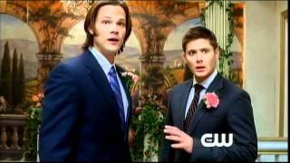 "Promo teaser for Supernatural episode 7x08, ""Season Seven, Time For A Wedding!"" (captioned)"