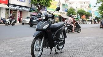 [Hình thảnh thực tế 100%] SYM Angela 50 màu đen mờ  con gái nên chọn xe 50cc nào?