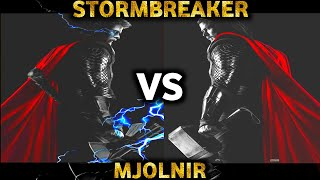 Mjolnir vs Stormbreaker / Fully explained in HINDI