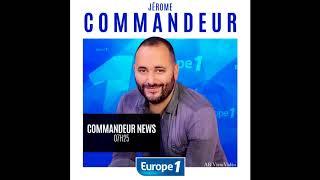 Europe1 - Jérôme Commandeur  durée 2h00 - 30.09.2011 au 28.11.2011