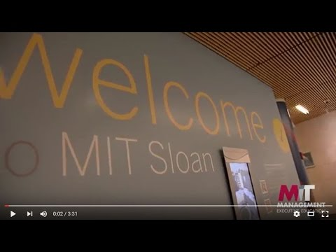 A Taste of MIT Sloan Executive Education: Open Enrollment Courses