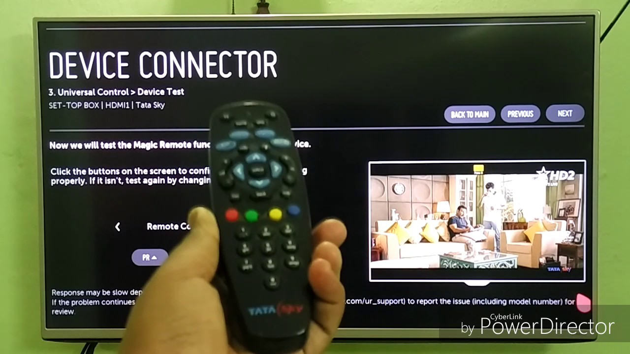 small resolution of how to connect your lg smart remote to your set top box making smart remote to universal remote