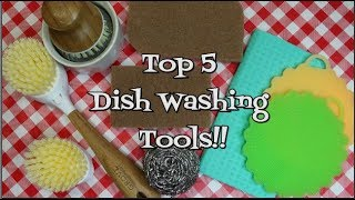 Top 5 Dish Washing Tools~Home Keeping~House Cleaning~Top 5 List~Noreen's Kitchen