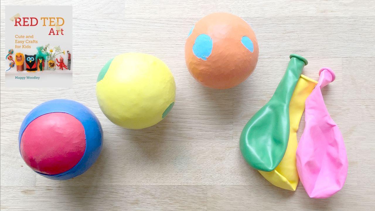 How to Make Balloon Juggling Balls (Stress Balls) - YouTube