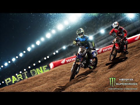 Monster Energy Supercross Career Mode Part 1 - MOTORBIKE MADNESS | PS4 Pro Gameplay