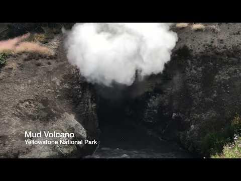 Yellowstone National Park - Mud Volcano (2018)