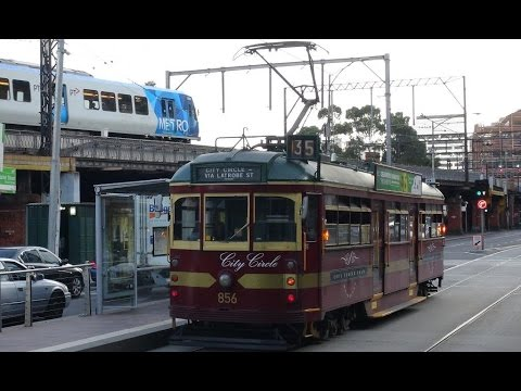 Melbourne Trams, Trains and Star Wheel 2014