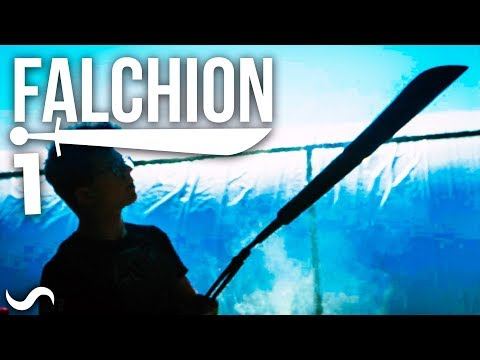 MAKING A FALCHION!!!! Part 1