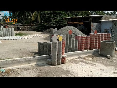 Paver Block Making Process Paver Tiles Manufacturing Process Concrete Tiles Interlocking Block
