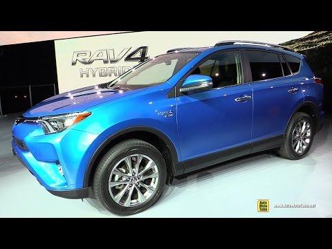 2016 Toyota RAV4 Hybrid Limited AWD Exterior, Interior Walkaround Debut 2015 NY Auto Show