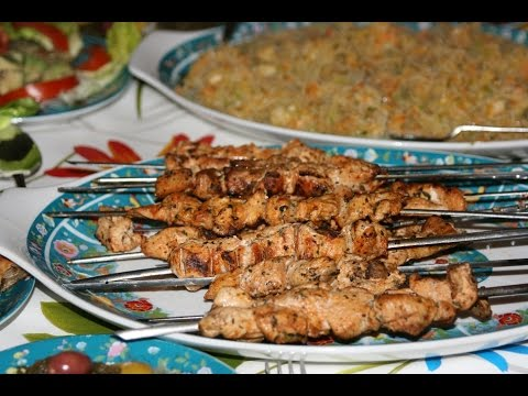 brochettes-de-poulet-marinées---marinated-chicken-skewers