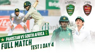 LIVE - Pakistan vs South Africa | 1st Test Day 4 | PCB