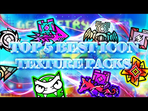 TOP 5 BEST EPIC ICON TEXTURE PACKS FOR GEOMETRY DASH 2.11 [#5] | Irving Soluble
