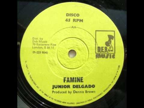 12'' Junior Delgado - Famine (& dub)