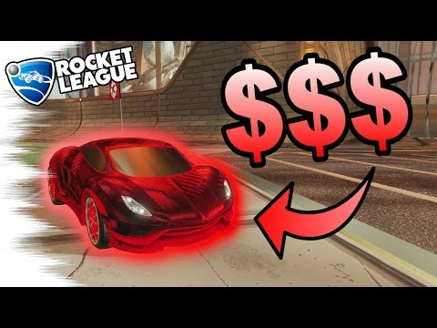 Rocket League Trading | The MOST EXPENSIVE CRIMSON CAR! - 20XX with Painted Endo/Wheels