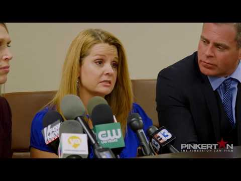 Paige Gasper Press Conference - Las Vegas Shooting Lawsuit - Chad Pinkerton