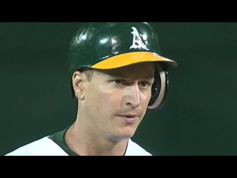 Mark Ellis' cycle in 2007 the A's first since '03