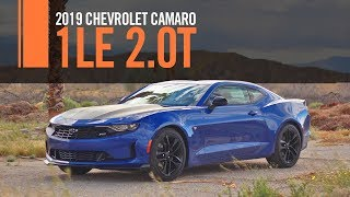 2019 Chevrolet Camaro 1LE 2 0T 2LT RS Review Test Drive First Drive