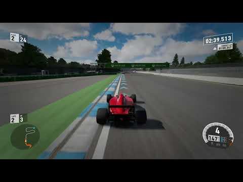 Forza Motorsport 7 - Ferrari Formula 1 F1 Hockenheim - Xbox One X 4K Gameplay Ultra HD