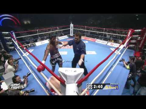 K-1 MAX FINAL 16 2009 - Buakaw Vs Dida - English Commentary 3/3
