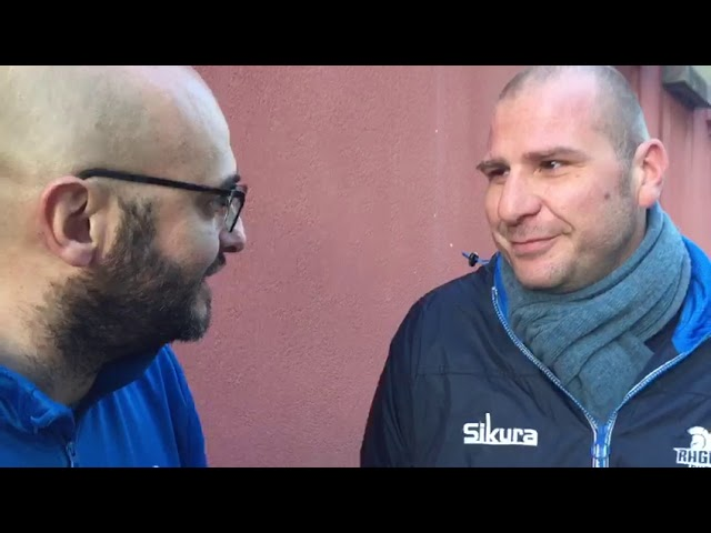 Intervista Post Partita Prima Playoff Amatori Catania 1963vs Ragusa Rugby  3 - 7