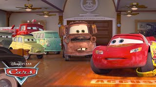 Lightning McQueen's Bumpy Start! | Pixar Cars