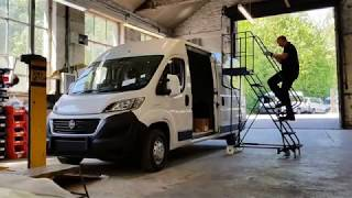 Leo Specialist Vehicles | ProjectX Camper Van | Stage 1 - Fitting Fiamma F65S Awning
