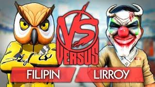 FILIPIN ПРОТИВ LIRROY - VERSUS BATTLE CS:GO (ВЕРСУС БАТТЛ)