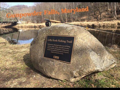Trout Fishing Gunpowder Falls In Maryland