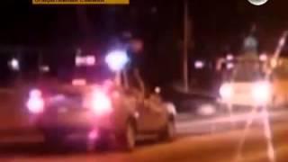 Реальная съёмка!Задержание пьяного лихача в Барнауле