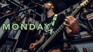 MONDAY (How I record a metal cover part 1)