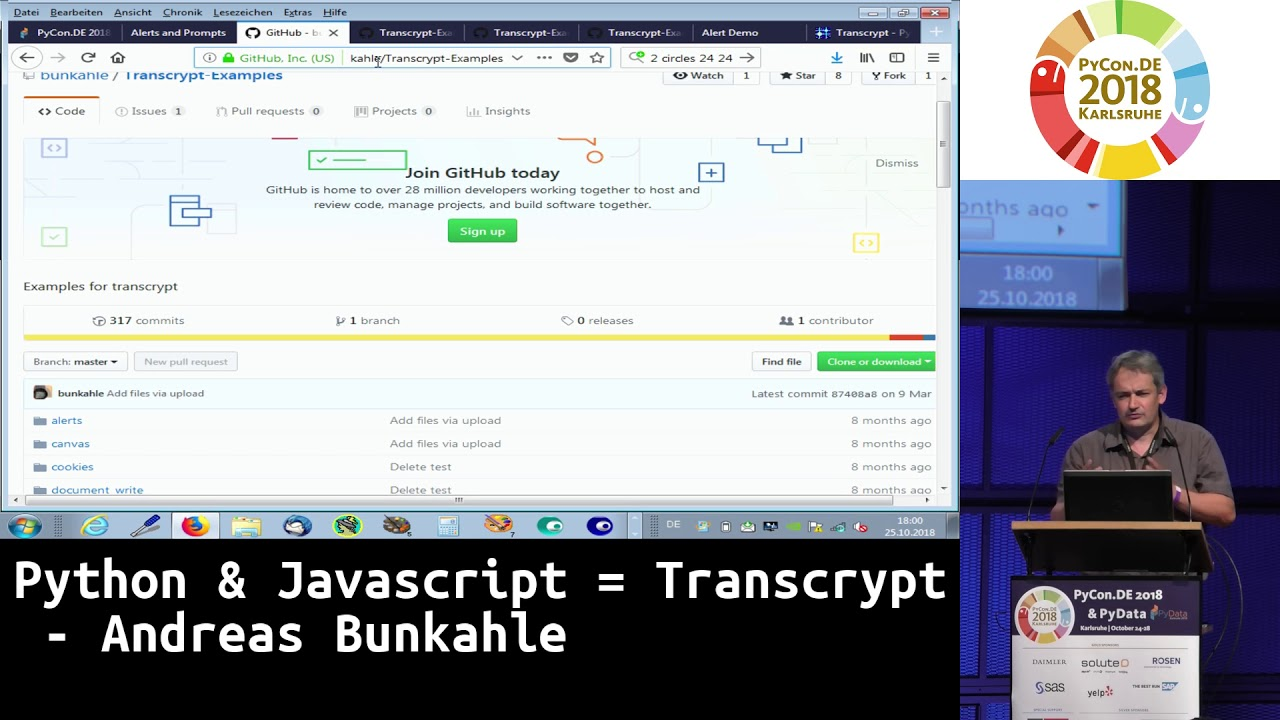 Image from Python & Javascript = Transcrypt