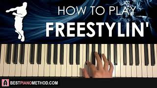 COMMENT À PLAY - FORTNITE DANCE - FREESTLYIN' (Leçon de tutorat de piano)