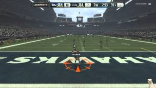 Madden 16 :: Run Down His Throat! ::-XBOX ONE Madden NFL 16 Online Gameplay Broncos Vs. Seahawks