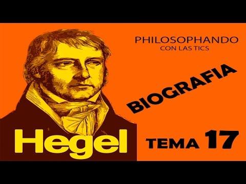 TEMA 18.1 HEGEL BIOGRAFIA